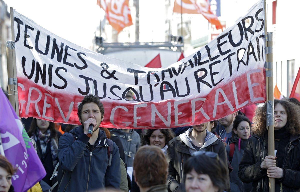 Un millier de personnes à Lille pour la manif du 1er mai. – M.Libert/20 Minutes