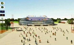 La ville de Gonesse a présenté vendredi un film en 3D, où elle esquisse ses projets pour le stade de Roland Garros.