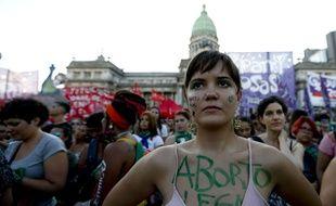 Le mouvement des «foulards verts» en faveur de la légalisation de l'avortement en Argentine.