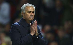 Les prières de José Mourinho ont été exaucées, Manchester United a battu City en 8e de finale de la Coupe de la Ligue anglaise (1-0), le 26 octobre 2016.