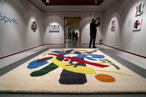 Une exposition dans une galerie à Moscou, le 19 avril 2021.