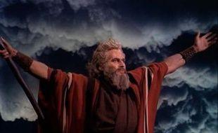 Moïse, incarné par Charlton Heston dans «Les dix commandements»