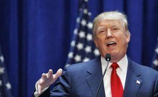 Donald Trump s'exprime le 16 juin 2015 à New York pour annoncer sa candidature à la prochaine présidentielle américaine