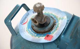 Illustration d'une bouteille de gaz.