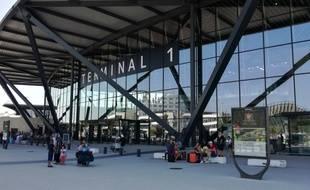 Photo d'illustration de l'aéroport de Lyon Saint-Exupéry, en septembre dernier.