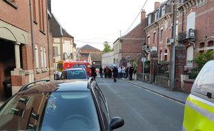 Gendarmes et pompiers sont intervenus pour un conflit de voisinage.