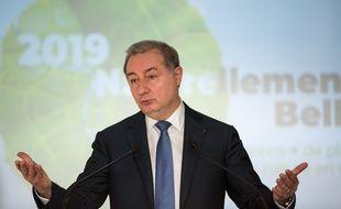 Jean-Luc Moudenc, le maire LR de Toulouse, lors de ses vœux à la presse, le 10 janvier 2019.