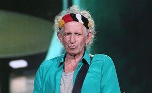 Keith Richards au Desert Trip festival