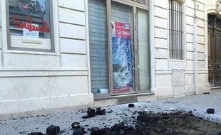 La permanence d'Anne-Yvonne Le Dain a été victime d'une tentative d'incendie samedi 8 octobre en fin de soirée.