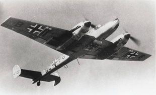 Un avion allemand pendant la Seconde Guerre mondiale