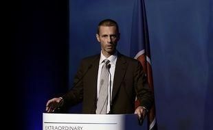 Aleksander Ceferin, nouveau président de l'UEFA