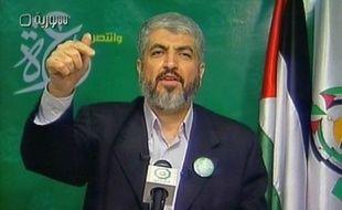 """Le chef en exil du Hamas, Khaled Mechaal, a affirmé vendredi à Damas que les dernières propositions israéliennes pour la consolidation du cessez-le-feu à Gaza restaient """"peu claires et incomplètes"""", et signifiaient la poursuite du blocus du territoire palestinien."""