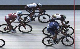 Kittel et Boasson-Hagen ont dû être départagés à la photo-finish.