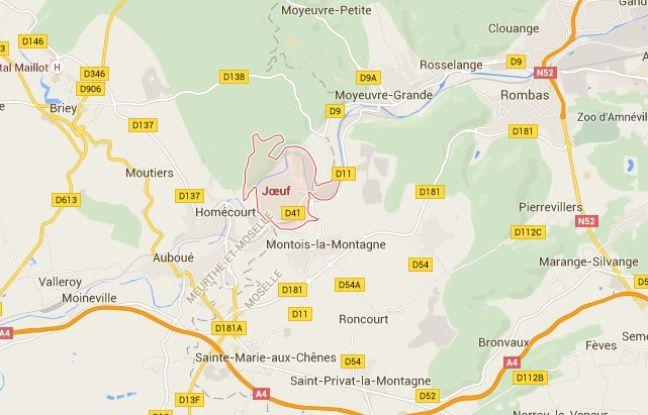 Juf en Meurthe-et-Moselle (Lorraine).