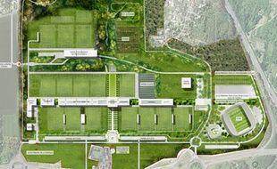 Le futur centre d'entraînement du PSG va être construit à Poissy, dans les Yvelines.