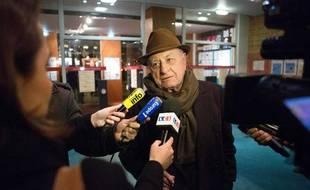 Pierre Bergé lors d'un gala en faveur du mariage pour tous le 28 janvier 2013.