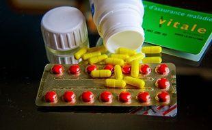 Illustration de médicaments.
