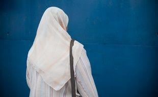 Le 30 mai 2011. Une femme portant le voile