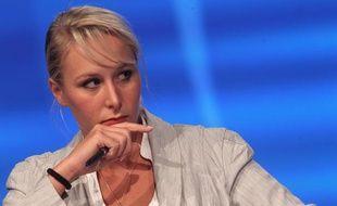 Marion Maréchal-Le Pen, le 15 septembre 2013, lors de l'université d'été du Front National à Marseille.