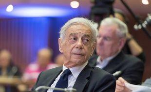 Lionel Stoleru lors du 60e anniversaire du Paris Club au ministère des Finances le 1er juillet 2016