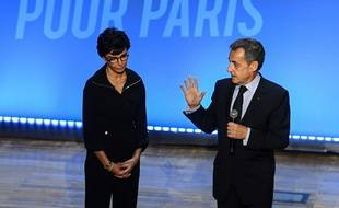 Rachida Dati et Nicolas Sarkozy