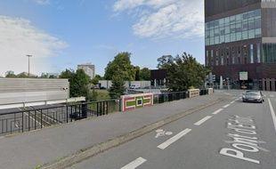 Le pont d'Erfurt, à Lille.