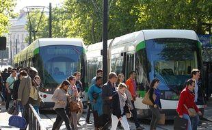 Un tramway de la TAN (illustration)