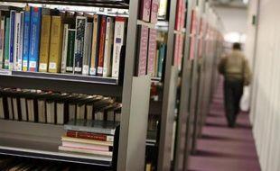 Une bibliothèque (photo illustration)