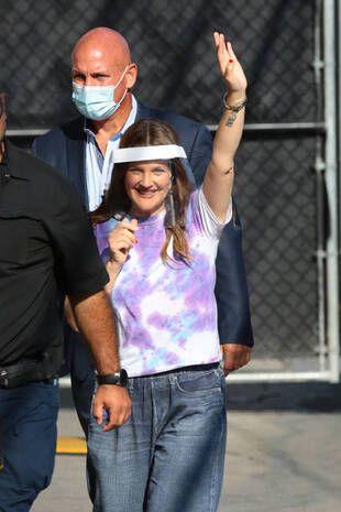Drew Barrymore, le 8 septembre, à Los Angeles.