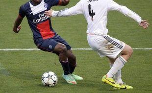 Kingsley Coman lors d'un match avec le PSH en Youth League en 2014.