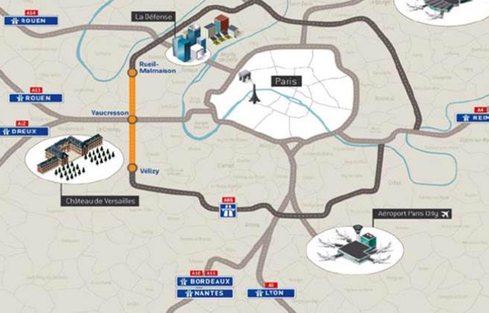 paris 12 radars sur 20 km d autoroute la grande arnaque du tunnel de l 39 a86. Black Bedroom Furniture Sets. Home Design Ideas