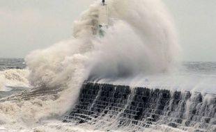 Les vents violents de la tempête Eleanor