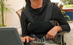 Sandrine Grenu ne peut plus enseigner mais veut travailler.