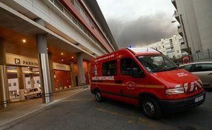 Un camion des marins-pompiers de Marseille. (illustration)
