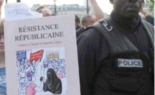 La manif devait viser les musulmans.