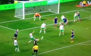 Le but écossais de la victoire contre l'Irlande (1-0) est venu d'une magnifique action collective, le 14 novembre 2014.