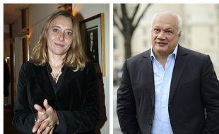 Virginie Despentes et Eric-Emmanuel Schmitt.