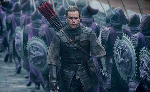 Archer, le personnage de Matt Damon vient en Chine voler les secrets de la poudre à canon.