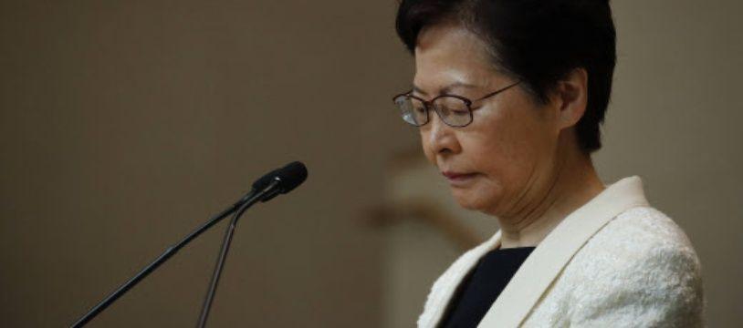 Carrie Lam est la cheffe de l'exécutif hongkongais. (archives)
