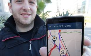 Maxime Comet présente l'appli Huski app