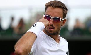 Viktor Troicki à Wimbledon en 2015.