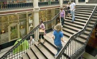 La nouvelle galerie marchande serait créée depuis le premier étage du passage.