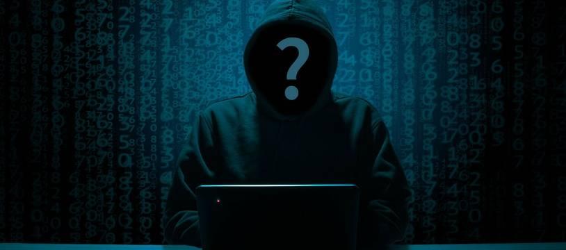 Le hacker, forcément un homme affublé d'une capuche et qui vit dans le noir entouré de langage binaire.