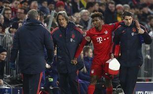 Coman est sorti sur blessure contre Tottenham en Ligue des champions.