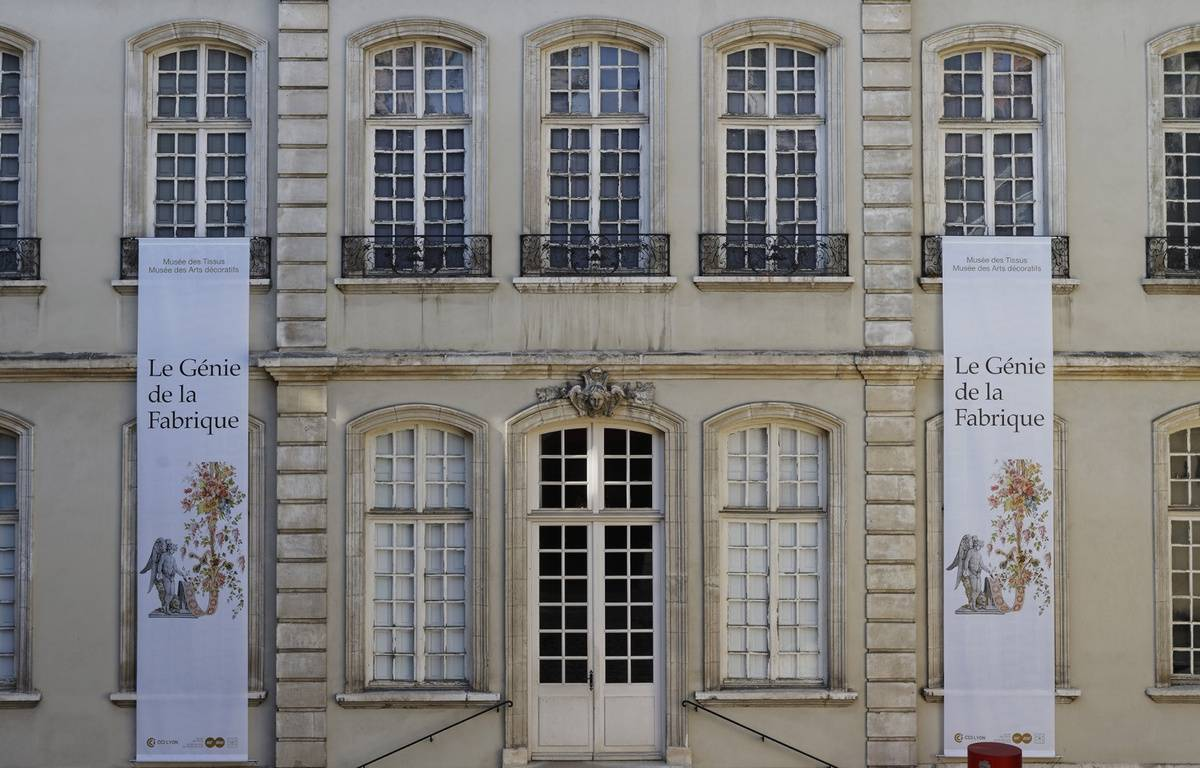 Le musée des tissu à Lyon est menacé de fermeture. – P. Verrier