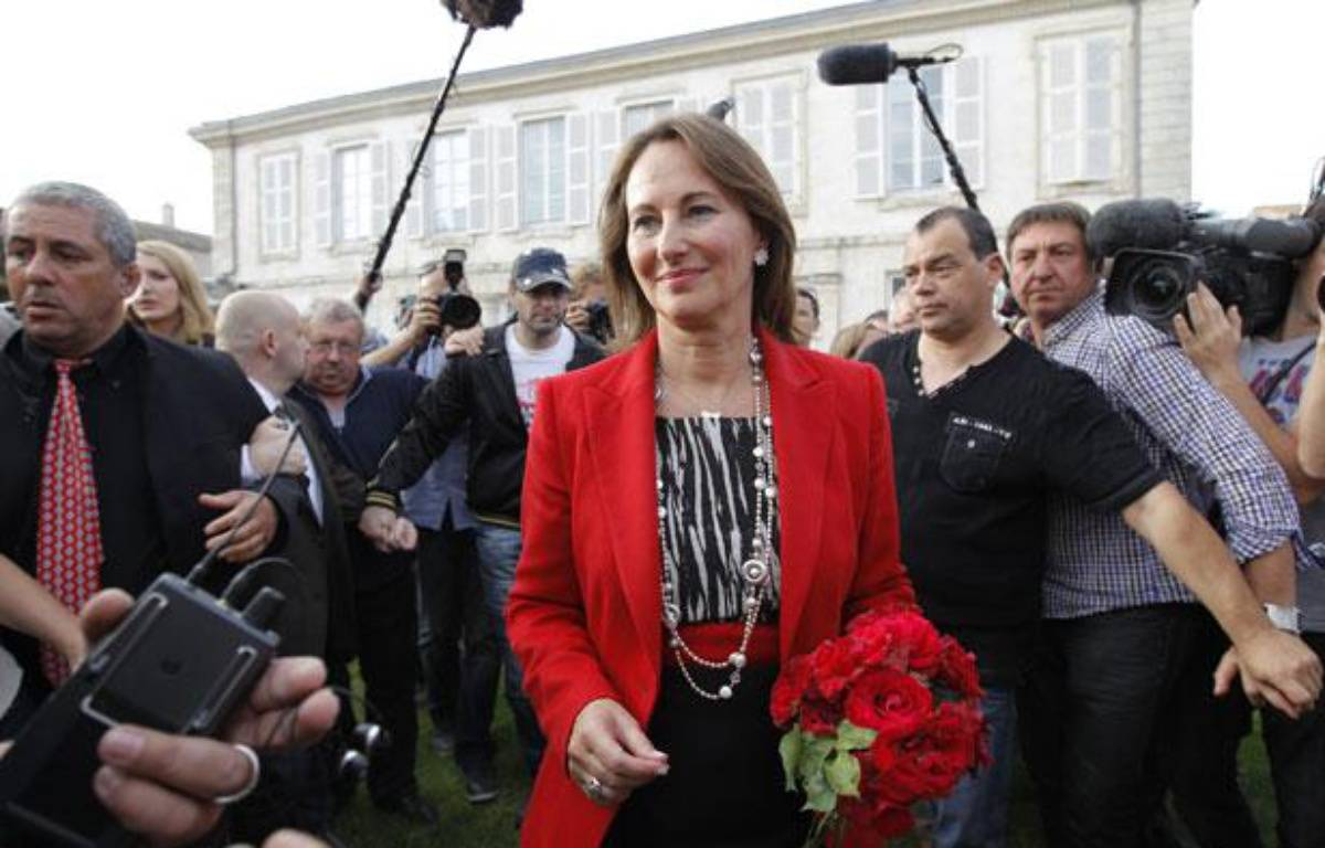 Ségolène Royal à La Rochelle, le 17 juin 2012. – REUTERS/Gonzalo Fuentes