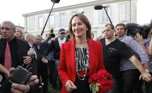 Ségolène Royal à La Rochelle, le 17 juin 2012.