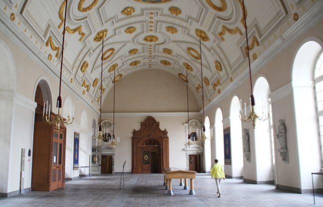 La salle des pas perdus, au Parlement de Bretagne, sera visible ce week-end lors des Journées du patrimoine.