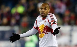 Thierry Henry sous le maillot des New York Redbull, le 29 novembre 2014.