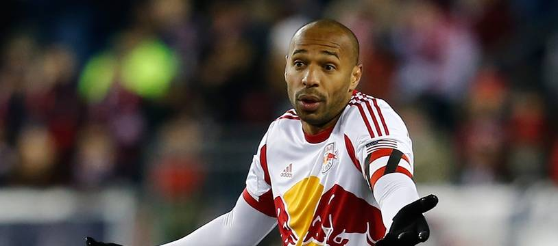 Thierry Henry sous le maillot des New York Red Bulls, le 29 novembre 2014.